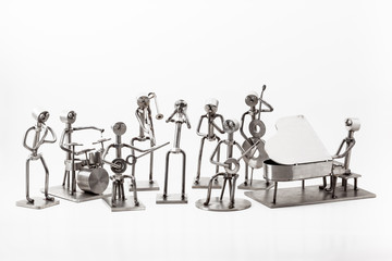 stainless steel Jazz Band