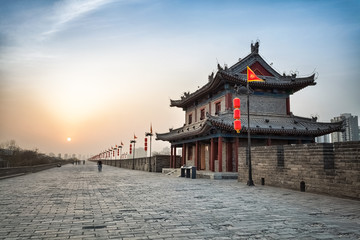 Wall Mural - ancient city of xian