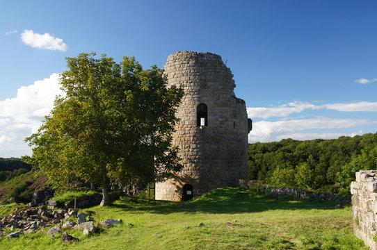ruines du château de Crozant