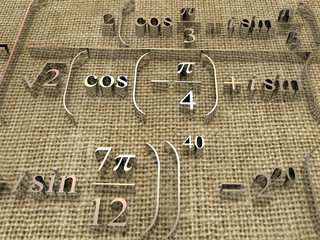 Mathematical formulas.