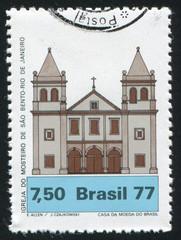 Monastery Church Rio de Janeiro