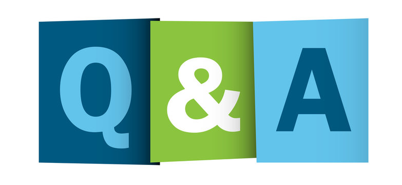 """""""Q&A"""" icon (questions and answers help assistance faqs)"""