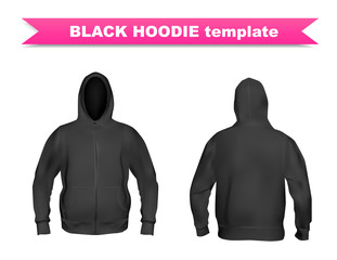 Search photos hoodies black hoodie template pronofoot35fo Image collections