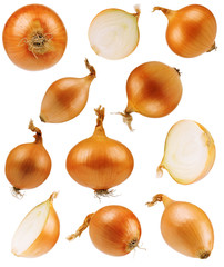 Fototapeta Set onions obraz