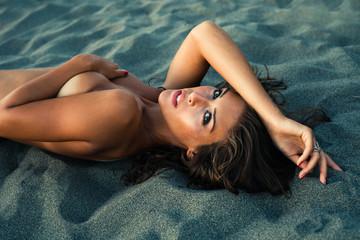 beauty in sand