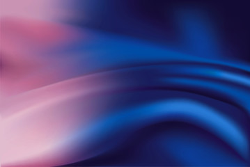 Vector of purple and blue silk background