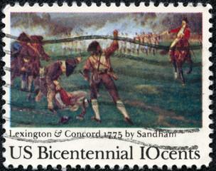 """Birth of Liberty"" by Henry Sandham"