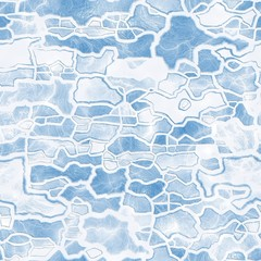 Ice pattern. Seamless background.
