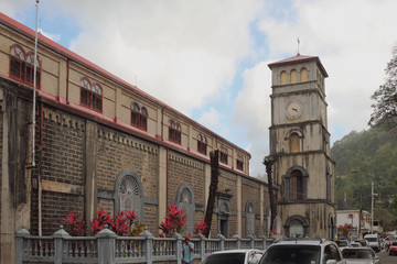 Cathedral of Immaculate Conception. Castries, Saint Lucia