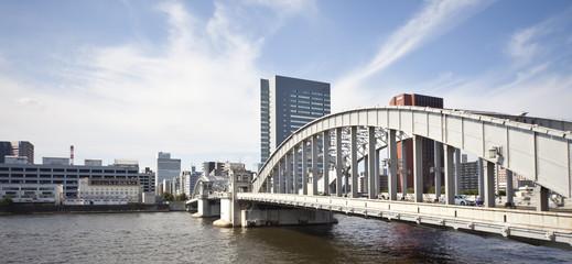 勝鬨橋と築地エリア
