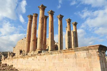 Temple of Artemis - Jerash, Jordan
