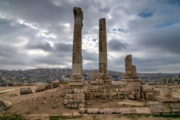 Temple of Hercules - Amman, Jordan