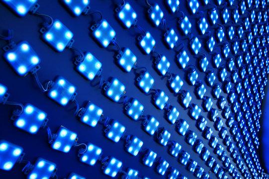 LED lights outdoor matrix board