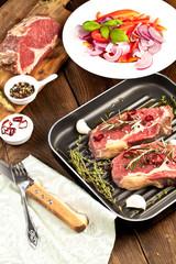 steak fleisch vorbereitung