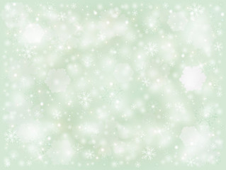 Snowflakes, winter frosty snow background