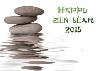 Printed roller blinds Zen galets zen 2015