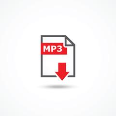Mp3 download icon