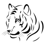 Tatouage Tigre Tribal Stock Photo And Royalty Free Images On