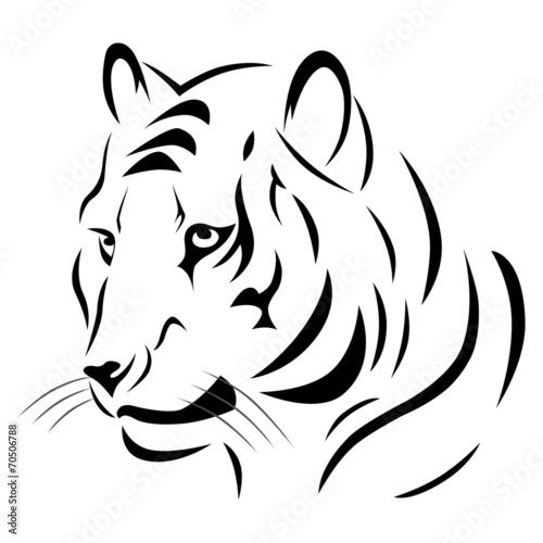 Tatouage Tigre Tribal Photo Libre De Droits Sur La Banque D Images