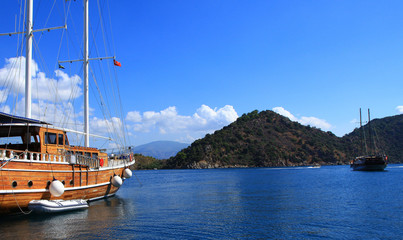 ship in marmaris turkey