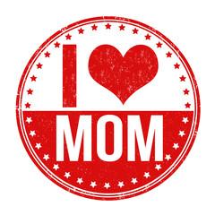 I love mom stamp