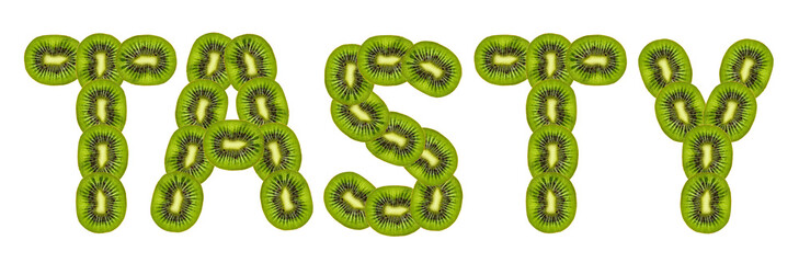 tasty kiwi fruit