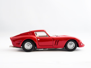 Classic Red Supercar