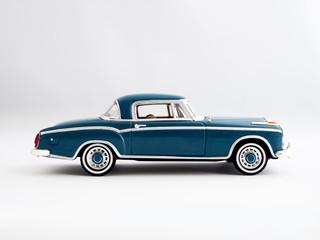 Classic Retro Blue Coupe