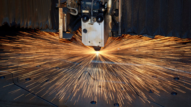 Laserschneidanlage