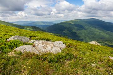 stones on the hillside