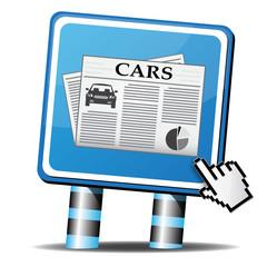 CARS NEWSPAPER ICON