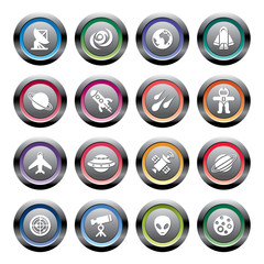 Space Element Icons