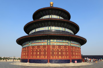 Fotobehang Beijing Der Himmelspalast in Peking China