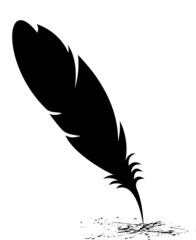 Feather blots
