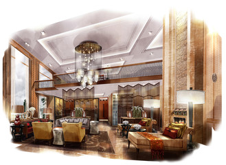 rendering painting interior,living room
