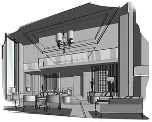 sketch design hotel,interior design,hotel,Living,dining