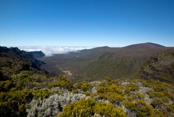 In den Bergen von Reunion