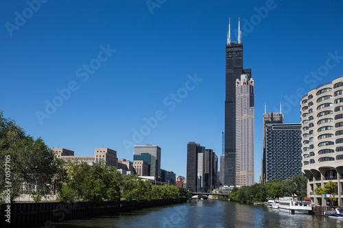 Canvas Prints Chicago Skyscrapers
