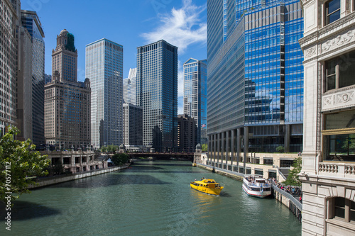 Fotomurales Chicago River View