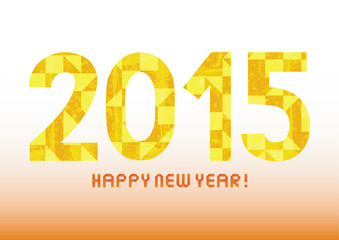 Happy new year 2015 greeting card4