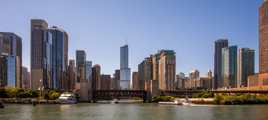 Canvas Print - Chicago Skyline Panorama
