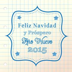 christmas greeting in spanish