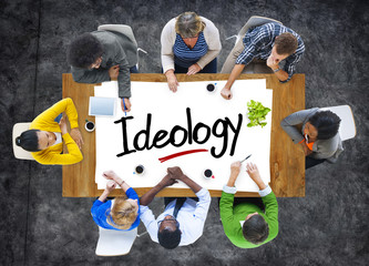 People Brainstorming about Ideology Concepts