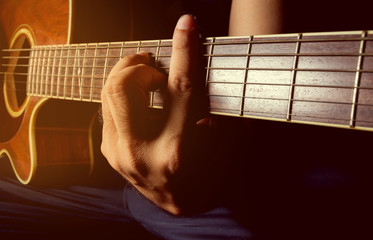 Playing acoustic guitar,guitarist, musician.