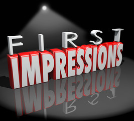 First Impressions Spotlight Introduction Debut Meeting New Peopl