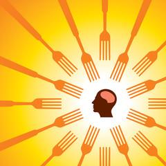 Food Concept vector