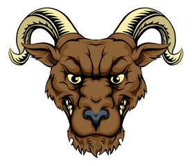 Ram mascot head