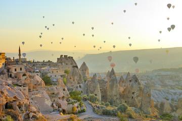 Cappadocia, Turchia, camini delle fate  di Goreme Wall mural