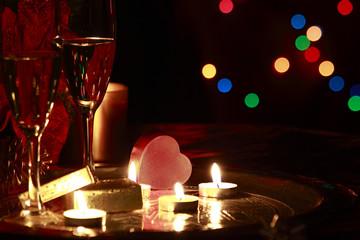 romantic celebration