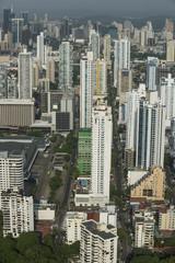 Skyscrapers in San Francisco, Panama City, Central America